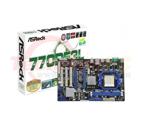 ASRock 770DE3L Socket AM3 Motherboard