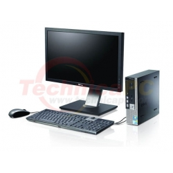 "DELL Optiplex 390SFF (Small Form Factor) Core i5-2400 LCD 18.5"" Desktop PC"