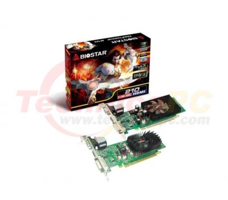 Biostar NVIDIA Geforce GT210 512MB DDR2 PCI-E VGA card