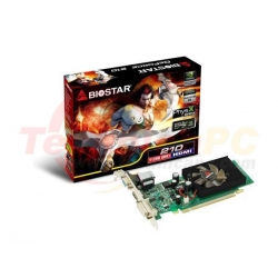 Biostar NVIDIA Geforce GT210 512MB DDR3 PCI-E VGA card