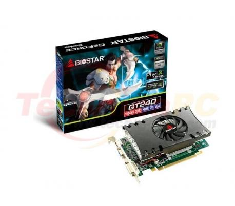Biostar NVIDIA GT240 1024MB DDR3 PCI-E 128 Bit VGA card