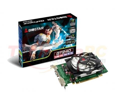 Biostar NVIDIA GT240 1024MB DDR5 PCI-E 128 Bit VGA card