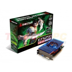 Biostar NVIDIA GTS250 512MB DDR3 PCI-E VGA card