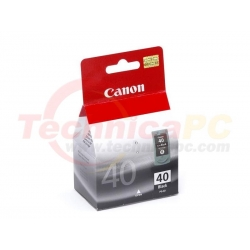 Canon PG-40 Black Ink Cartridge Printer