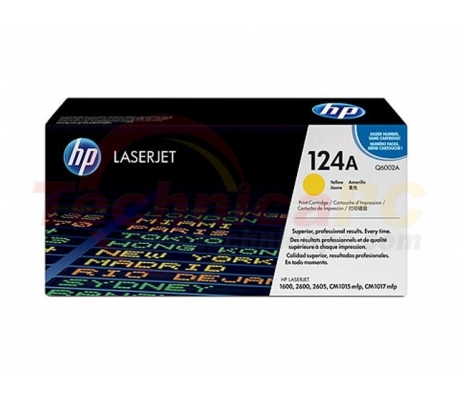 HP Q6002A Yellow Printer Ink Toner