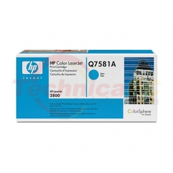 HP Q7581A Cyan Printer Ink Toner