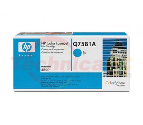 HP Q7581A Cyan Printer Ink Toner