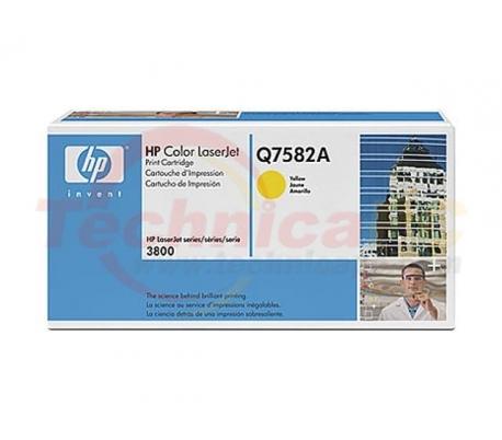 HP Q7582A Yellow Printer Ink Toner
