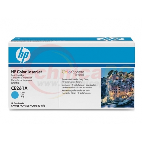 HP CE261A Cyan Printer Ink Toner