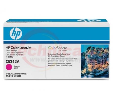HP CE263A Magenta Printer Ink Toner