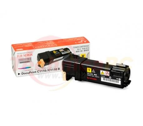 Fuji Xerox CT201117 (C1110B/C1110) Yellow Printer Ink Toner