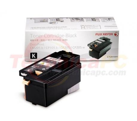 Fuji Xerox CT201591 (CP105B/CP205) Black Printer Ink Toner