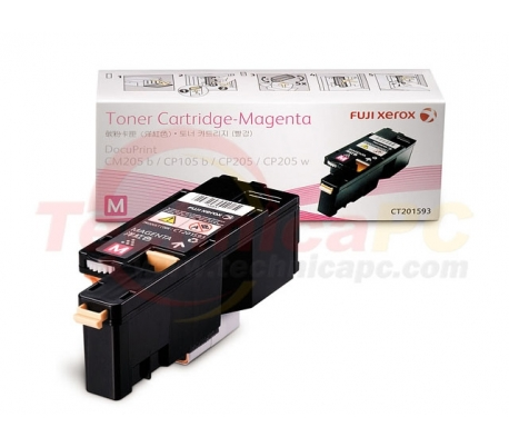 Fuji Xerox CT201593 (CP105B/CP205) Magenta Printer Ink Toner