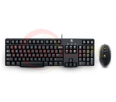 Logitech MK100 Classic Desktop Keyboard & Mouse Bundle