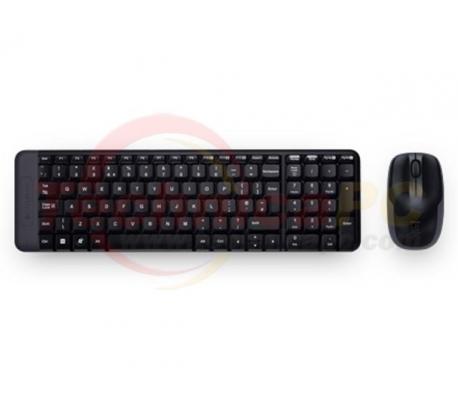 Logitech MK220 Wireless Desktop Keyboard & Mouse Bundle