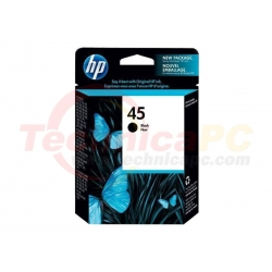 HP C51645A Black Printer Ink Cartridge