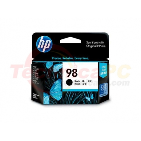 HP C9364WA Black Printer Ink Cartridge