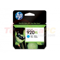 HP CD972A Cyan Printer Ink Cartridge