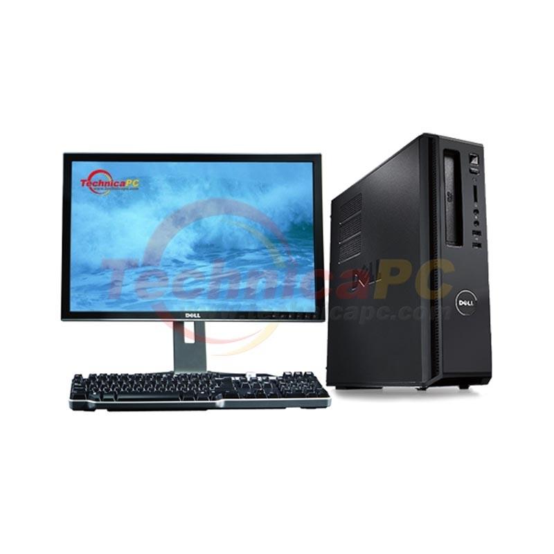 Dell Vostro 230st Slim Tower Intel E7500 Lcd 18 5 Desktop Pc Loading Zoom
