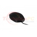DELL MS111 USB 3-Buttons Optical Wired Mouse