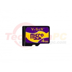 V-Gen 4GB Micro SD Card