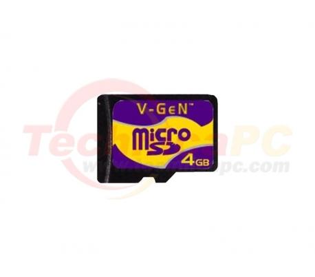 V-Gen 4GB Micro SD Card