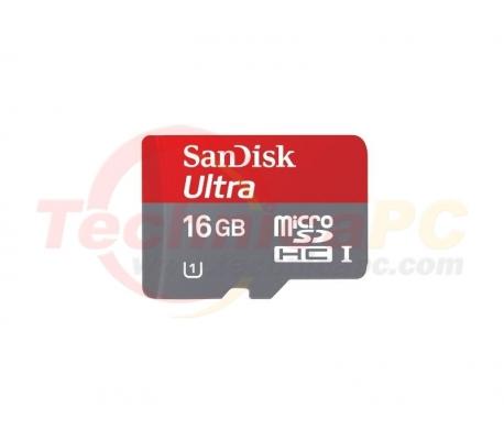 SanDisk HC Mobile Ultra Class 10 / U1 16GB Micro SD Card