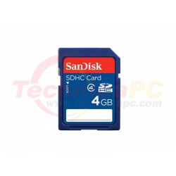 SanDisk HC 4GB SD Card