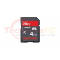 SanDisk HC Ultra 4GB SD Card