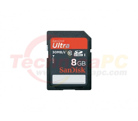 SanDisk HC Ultra Class 10 8GB SD Card