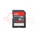 SanDisk HC Ultra Class 10 16GB SD Card