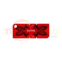 SanDisk Cruzer Pop CZ53 4GB Red USB Flash Disk
