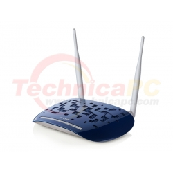 TP-Link TD-W8960N 300Mbps Modem ADSL - Wireless Router