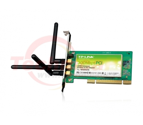 TP-Link TL-WN951N 300Mbps Wireless PCI Adapter