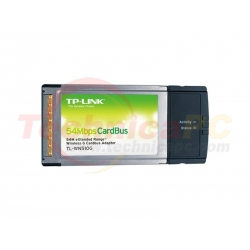 TP-Link TL-WN510G 54Mbps PCMCIA Wireless LAN Cardbus Adapter