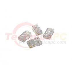 AMP Cat 5E 4Pairs RJ-45 50Pcs/Pack UTP Connector Cable Networking