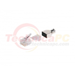 AMP Cat 6E 4Pairs 100Pcs/Pack UTP Connector Cable Networking