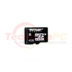 Patriot HC LX Class 10 4GB Micro SD Card