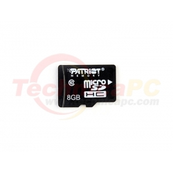 Patriot HC LX Class 10 8GB Micro SD Card