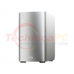 Western Digital My Book Thunderbolt Duo 6TB WDBUPB0060JSL HDD Exernal 3.5""