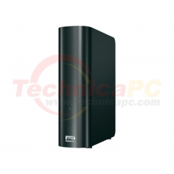 Western Digital My Book Live 2TB Ethernet WDBACG0020HCH HDD Exernal 3.5""