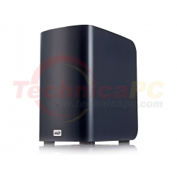 Western Digital My Book Live Duo 4TB Ethernet WDBVHT0040JCH HDD Exernal 3.5""