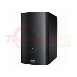 "Western Digital My Book Live Duo 6TB Ethernet WDBVHT0060JCH HDD Exernal 3.5"""