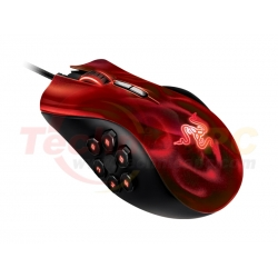 Razer Naga Hex Red Wired Mouse