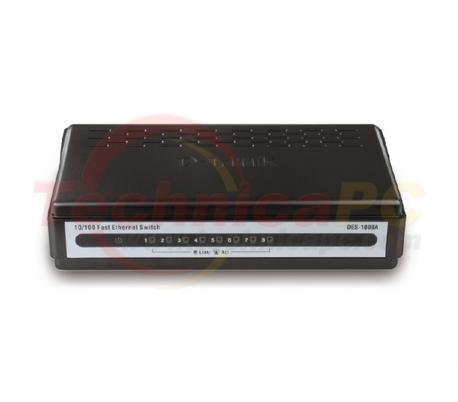 D-Link DES-1008A/E 8Ports Switch 10/100