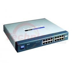 Linksys SR216T 16Ports Rackmount Switch 10/100