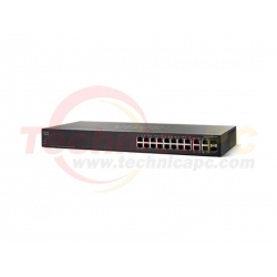 Linksys SRW2016-K9-EU 16Ports Switch 10/100/1000 Gigabit