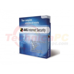 AVG Internet Security 3Users Anti Virus Software