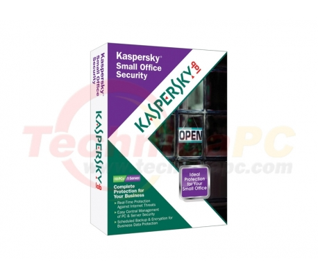 Kaspersky Small Office Security (10Clients + 1File Server) Anti Virus Software