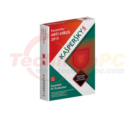 Kaspersky 2013 for 1Computer Anti Virus Software